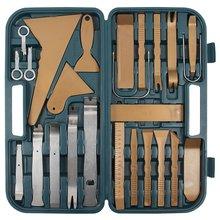 Набор инструментов для снятия обшивки 36 предметов  - Краткое описание