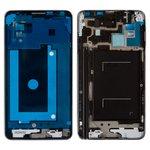 LCD Binding Frame Samsung N9005 Note 3, N9006 Note 3, (grey, LTE)