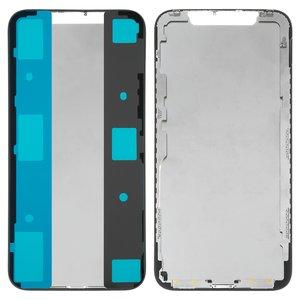 LCD Binding Frame Apple iPhone X, (black)
