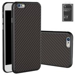 Case Nillkin Synthetic fiber compatible with iPhone 6 Plus, iPhone 6S Plus, (black, without logo hole, Ultra Slim, plastic) #6902048116115