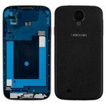 Корпус для Samsung I9500 Galaxy S4, черный, Black Edition