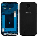 Корпус Samsung I9500 Galaxy S4, черный, Black Edition