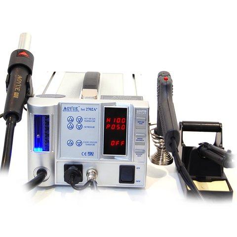 Термовоздушная паяльная станция для бессвинцовой пайки AOYUE 2702A+ (220 В)