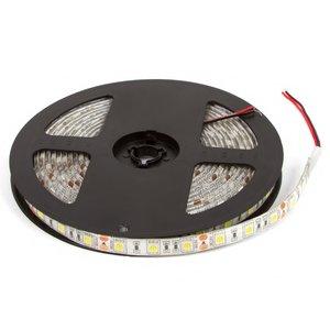 Светодиодная лента SMD5050 (сверхъяркая, холодый белый, 300 светодиодов, 12 В DC, 5 м, IP65)
