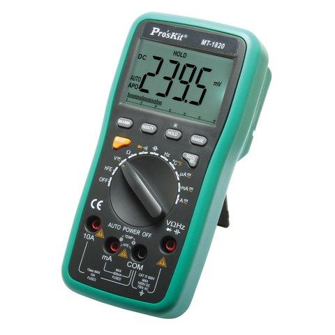 Цифровой мультиметр Pro'sКit МT-1820