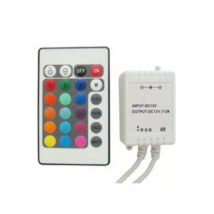 Контроллер с ИК пультом HTL-43 (RGB, 5050, 3528, 72 Вт)
