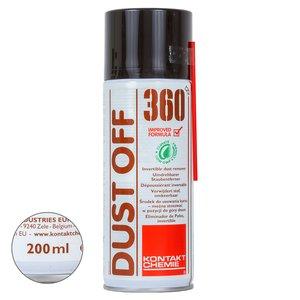 Стиснуте повітря Kontakt Chemie DUST OFF 360 (200 мл)