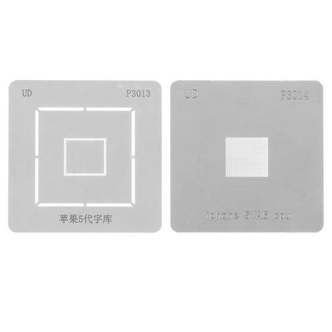 BGA трафарет A6 RAM+CPU для мобільного телефону Apple iPhone 5